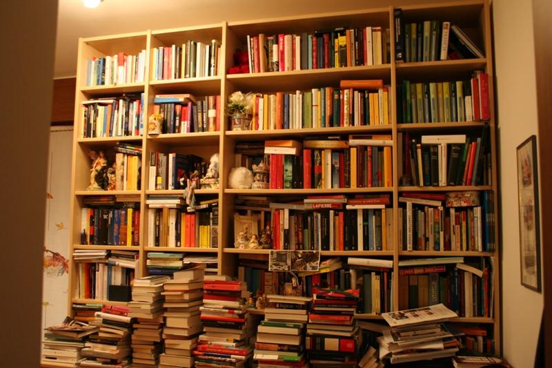 Sogni bisogni blog archive le vostre librerie primi for Scaffalatura libreria