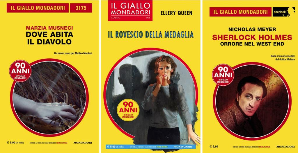 Gialli Mondadori Gennaio 2019