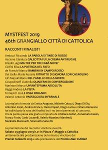 Finalisti MystFest, 46th Grangiallo Città di Cattolica
