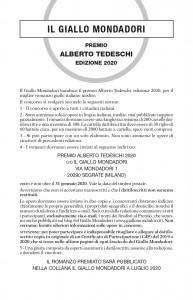 Premio Tedeschi 2020