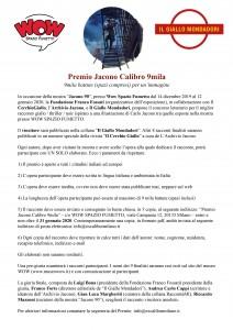 Premio Jacono Calibro 9mila