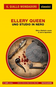 """Ellery Queen, """"Uno studio in nero"""", I Classici del Giallo n. 1444, maggio 2021"""