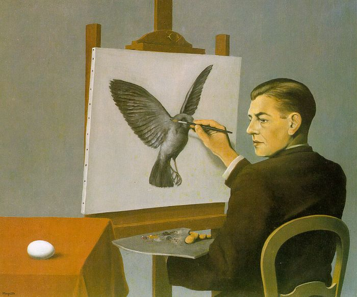 Magritte, Autoritratto