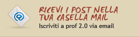 ricevi i post nella tua mail
