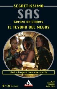 Gérard de Villiers - SAS: Il tesoro del Negus