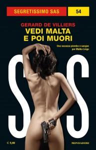 """Gérard de Villiers, """"Vedi Malta e poi muori"""", Segretissimo SAS 54, agosto 2019"""
