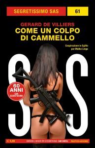 """Gérard de Villiers, """"Come un colpo di cammello"""", Segretissimo SAS n. 61, marzo 2020"""