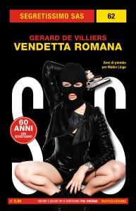 "Gérard de Villiers, ""Vendetta romana"", Segretissimo SAS n. 62, aprile 2020"