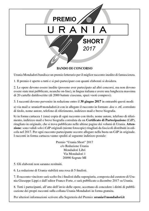 Premio Urania Short